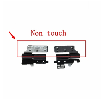 New Laptop Lcd Hinges Kit for DELL Precision M4800 VAQ10 Lcd hinges DIESEL15 15.6 left right SZS DIESEL15 A143C2 QHD Non touch new laptop hinge for dell 15 7000 7535 7537 with touch screen notebook lcd left right hinges replacement repair