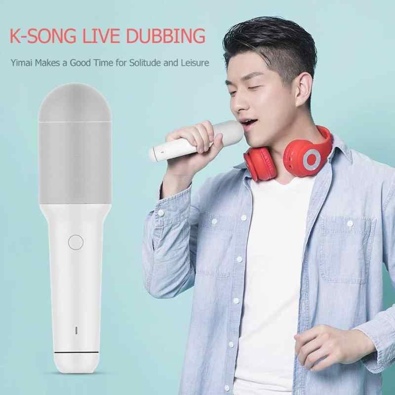 Xiaomi YMI Bluetooth geïntegreerde karaoke microfoon Draadloze opname Geschikt Handheld Type-C Mic voor familiebijeenkomsten