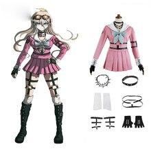 Danganronpa V3: Killing Harmony Iruma Miu Rabbit Uniform Halloween Christmas Anime custom made Cosplay Costume 1 order
