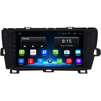 2020 in stock! 4G LTE Android 10 For Toyota Prius 2009 2010 2011 2012 2013 Multimedia Stereo Car DVD Player Navigation GPS Radio image