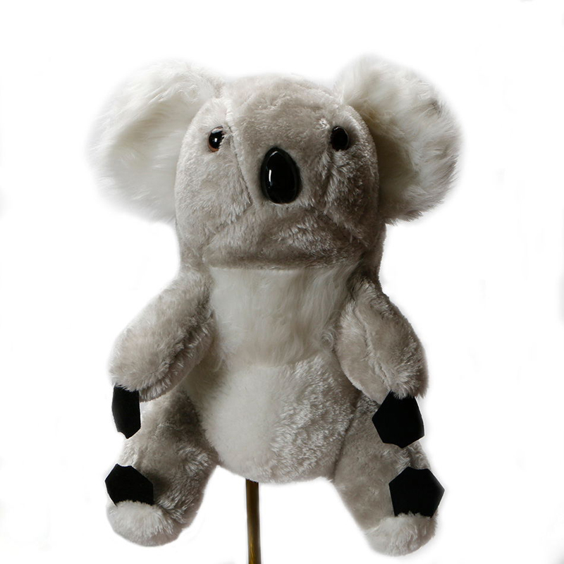 Mazel Over-Sized Plush Koala Head Cover For Golf Club Drivers