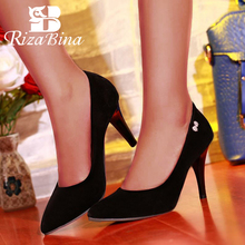 RizaBina Women High Heels Shoes Women Stiletto Wedding Shoes