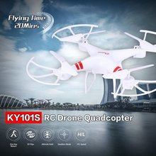 KY101S RC Drone With Camera HD Wifi FPV Altitude Hold One Key Return Landing Off