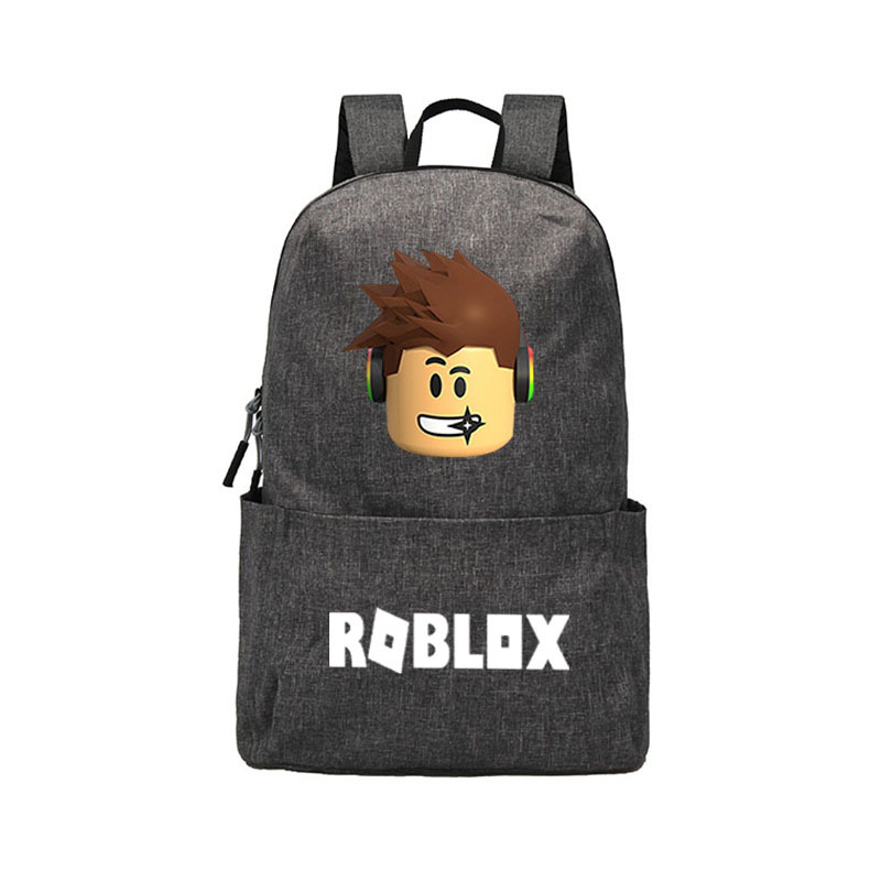 ROBLOX Backpack For Girls Boys Teenagers Childrens  School Bag Women Cool Bookbag Mochila Feminina School Backpack
