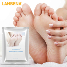 LANBENA Foot Mask PeelingRenewal Pedicure Exfoliating Remove Dead Skin Smooth Socks Care for Peeling