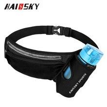 Haissky Heuptas Riem Water Bottle Pouch Telefoon Tas Voor Iphone 12 11 Pro Max X Xr Xs Wandelen Fitness lichtgewicht Taille Verpakking