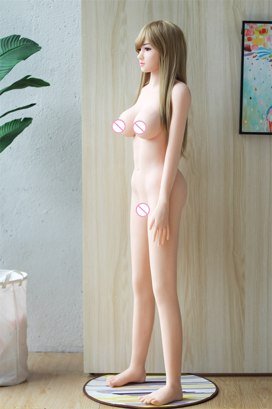 H47fb330117584859a6f3ad5e64abcd3ch 158Cm Real Silicone Japanese Anime Girl Sex Dolls Artificial Breast Oral Vagina Full AV Tits Poupee for Men Ass Pussy Porno Toys