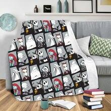 Одеяло с 3d принтом «Кошмар перед Рождеством» носимые одеяла