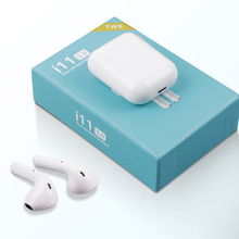 i11 TWS Bluetooth Earphones Mini Wireless Earbuds Sport Handsfree Earphone Cordless Headset for iphone Samsung PK i10 i12 i13