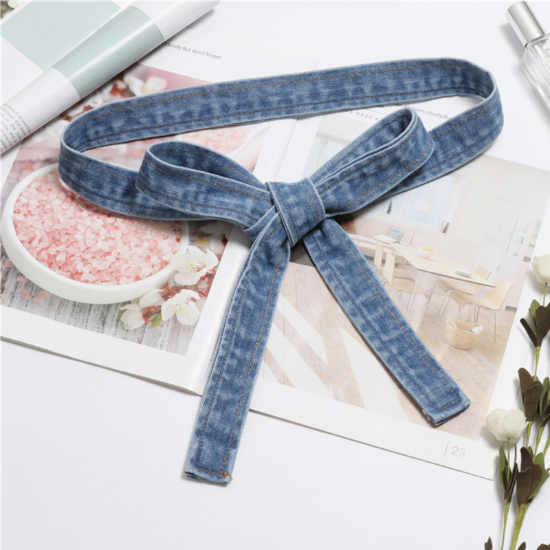 2020 High Fashion Solid Wide Belt Stylish Denim Belt Trendy Corset Belt Waistband New Design Belts For Women Female Tide ZK819
