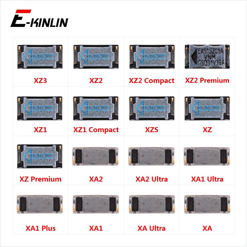Top Ear Speaker Receiver Earpieces For Sony Xperia XZ3 XZ2 XZ1 XZS XZ XA2 XA1 XA Ultra Plus Premium Compact Replacement Parts