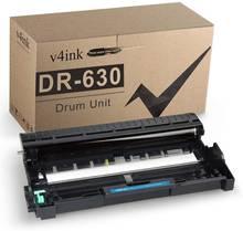 V4ink совместимый с планшетом brother dr630 dr 630 (черный 1