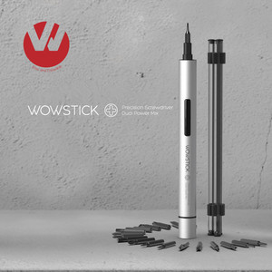 Original Wowstick Try 1P+ 19 In 1 Electric Screw Driver Cordless Power work with home smart home kit product(China)