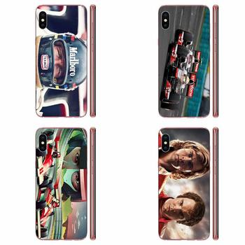 James Hunt Niki Lauda Competing Back Covers Slim For Galaxy A10 A10S A20 A20S A20E A30 A30S A40 A40S A50 A50S S8 S9 S10 S20 Plus image