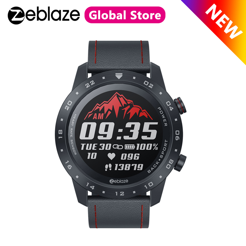 New Zeblaze NEO 2 Smartwatch Bluetooth 5.0 Health&Fitness Waterproof Smart Watch Long Battery Life Sport Watch For Android/IOS
