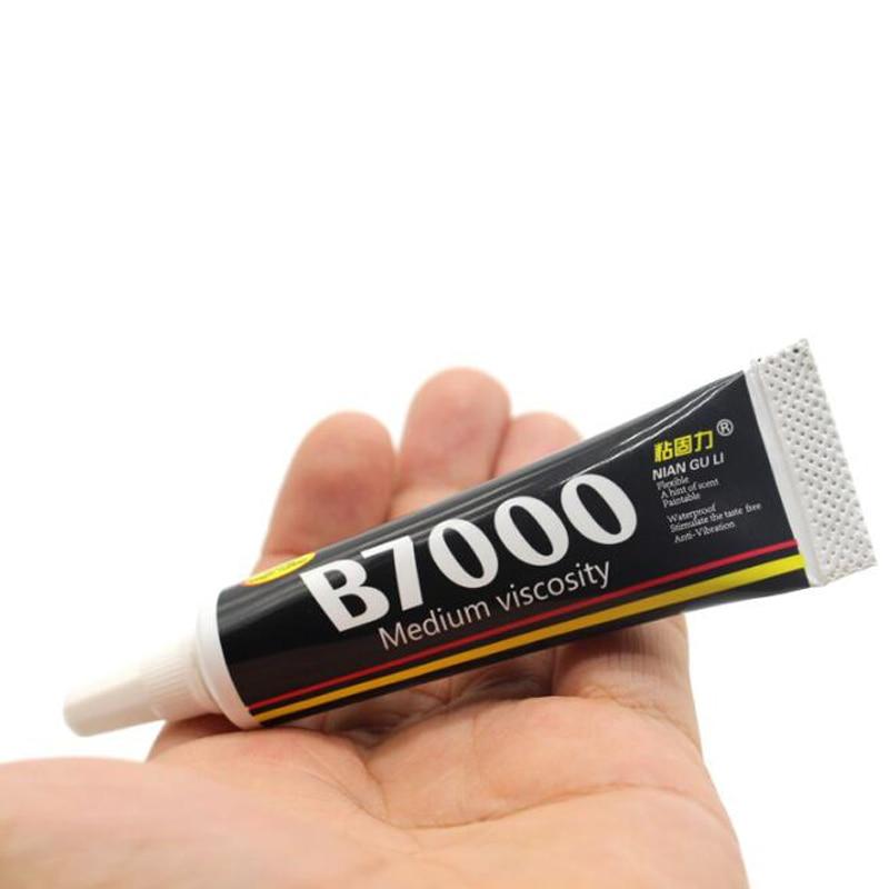 1PCS 15ml B7000 Medium Viscosity  Industrial Strength Glue Adhesive 15ml 0.5fl.oz For Jewelry Nails Glass