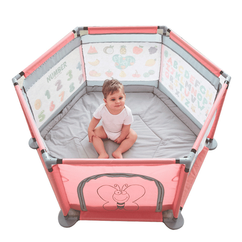 Happymaty Children Playpen Baby Game Fence Security Fence Ball Pool For Newborn Indoor Safety Barrier F02