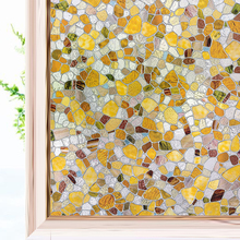 Decorative Window Film for Home, Non Adhesive Frosted Film Privacy Window Sticker Self Static Cling Vinyl Glass Film Anti UV wxshsh privacy white cross non adhesive frosted window film removable static cling decorative glass sticker no glue uv blocking