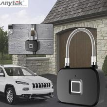 Anytek L13 Умный Замок с отпечатком пальца, Умный Замок без ключа, Противоугонный замок для двери, Чехол для багажа, замок для путешествий, чехол для велосипеда