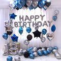 26 шт 30 ''18 Серебряная Фольга воздушные шары металлик воздушные Globos Корона 18th Юбилей Happy День рождения украшения поставки