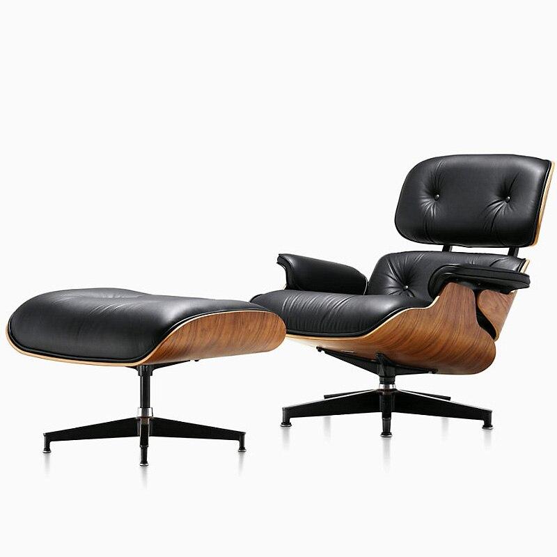 Ensemble de canapé de loisirs en cuir microfibre nordique avec repose-pieds chaise classique moderne Simple meubles de maison salon ensemble canapé-lit