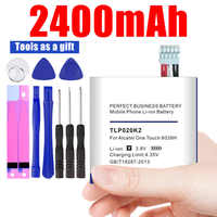2400mAh TLp020K2 Battery for Alcatel One Touch Idol 3 4.7 6039H 6039Y Batteries track code