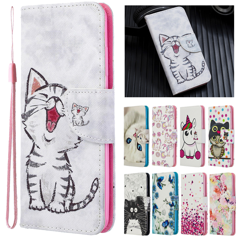 For Samsung Galaxy A51 Case Leather Case On Sfor Samsung A51 A 51 A515F Cover Galaxy A71 A 71 Case Flip Wallet Phone Cases Coque