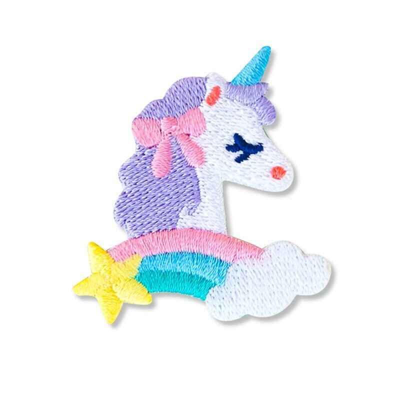 Bentoy Milkjoy ユニコーンコーギー刺繍ラップトップ用バッグ荷物服かわいいポストステッカーラブリーガールズ DIY ステッカー
