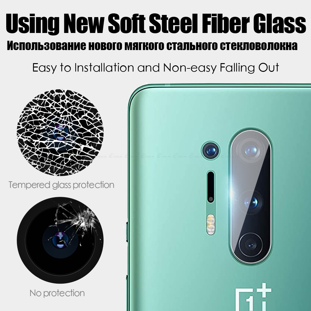 Back Camera Lens Clear Tempered Glass For One Plus Screen Protector 3