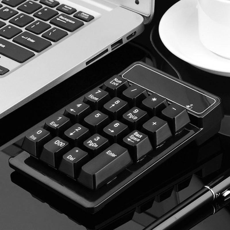Mini-Usb Numpad Keyboard Numeric-Keypad Computer-Accessories Number-Pad Laptop Wired