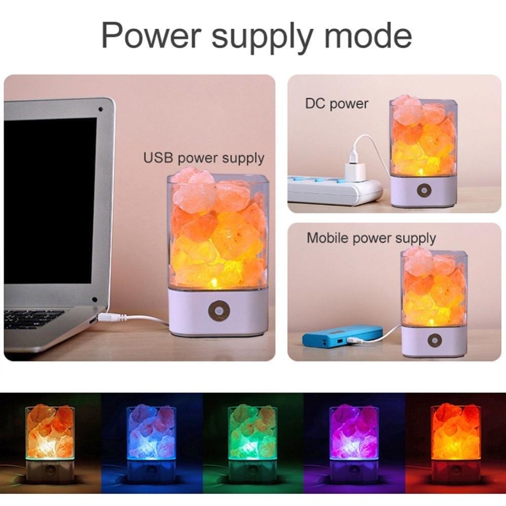 himalaia portátil diodo emissor luz íon negativo