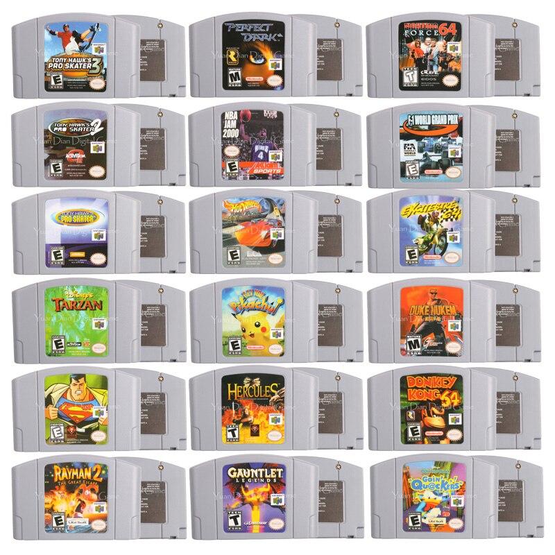 64 Bits Video Game Cartridge Games Console Card Perfect Dark English Language US Version For Nintendo
