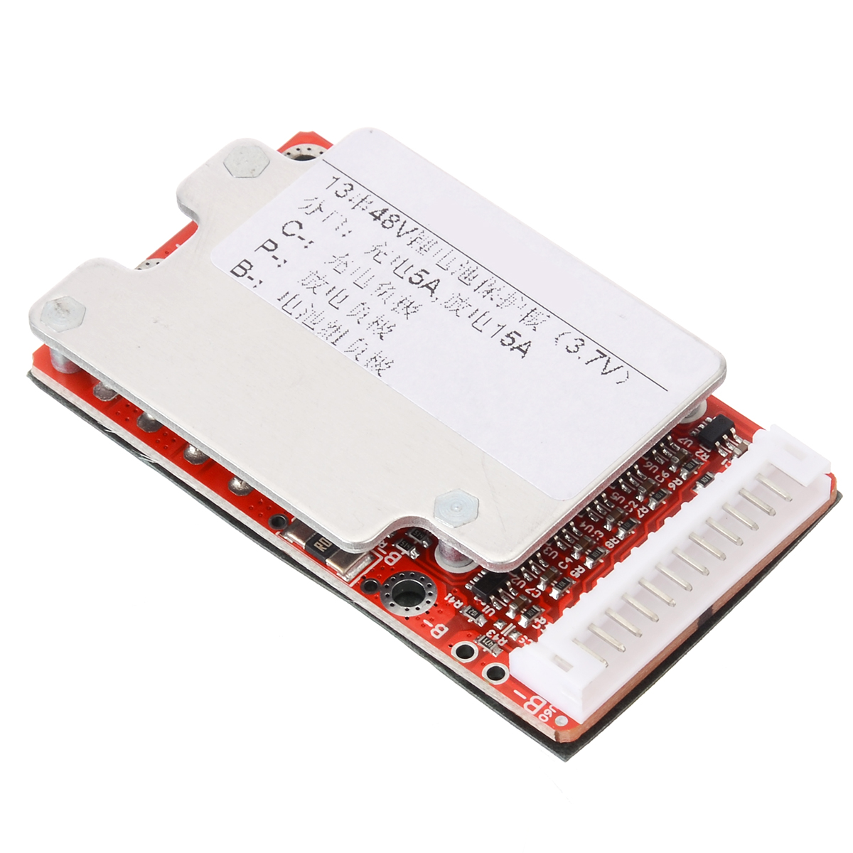 Onsale <font><b>13S</b></font> 48V/54.6V 15-45A 18650 Li-ion Li-Polymer Battery Pack Power Protection Board <font><b>BMS</b></font> PCB For Electric Bicycle image
