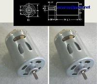DHL/EMS 20 stücke DC 12 V 36 V DC Haar trockner Drucker kopierer elektrische schraubendreher miniatur DC motor A7-in Batteriezubehörteile und Ladezubehör aus Verbraucherelektronik bei
