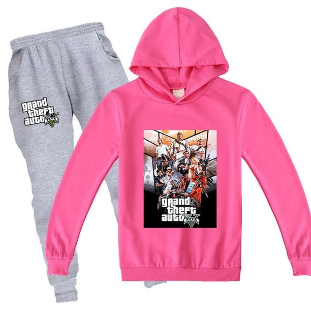 GTA Sweat Suit Set 4