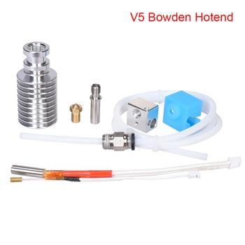 V5 j-head Hotend Kit 3D piezas de impresora I3 Mega para 1,75mm V5 Bowden extrusora 12/24V para I3 Mega/Chiron 3D impresora
