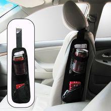 Holder Organizer Car-Accessories Storage-Net Drink-Bottle Side-Porket Car-Styling Pouch