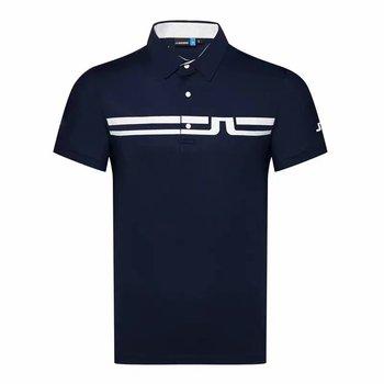 Mężczyźni sportowe z krótkim rękawem t-shirt do golfa 4 kolory JL Golf odzież S-XXL w wyborze Sport rozrywka koszulka golfowa tanie i dobre opinie HQBWill COTTON SILK Poliester Mikrofibra spandex Anty-pilling Anti-shrink Przeciwzmarszczkowy Oddychające Szybkie suche