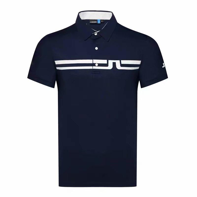 Men Short Sleeve Sport Golf T-shirt 4 Colors JL Golf Clothes S-XXL In Choice Sport Leisure Golf Shirt
