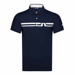 Men Short sleeve Sport Golf T-shirt 4 colors JL Golf clothes S-XXL in choice Sport Leisure Golf shirt