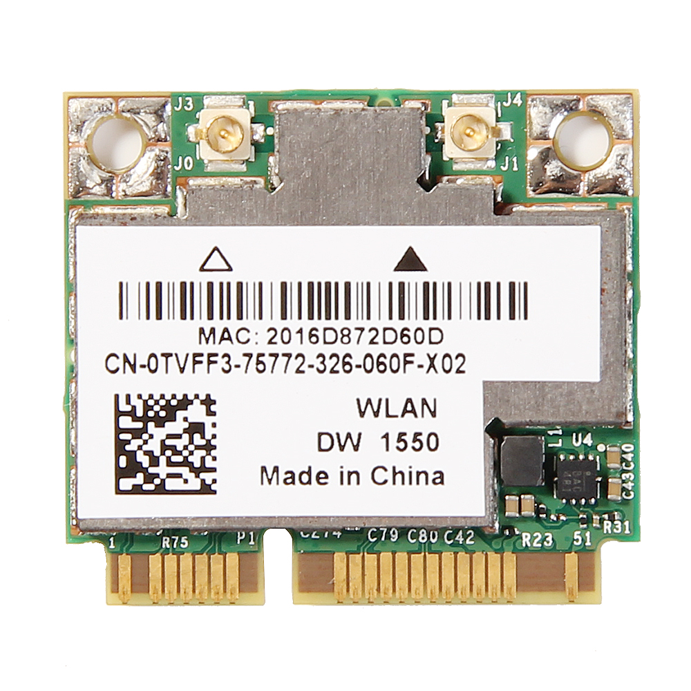 Dual Band For BCM94352HMB 867Mbps Wifi Bluetooth BT 4.0 Mini PCI-E Half Wireless WI-Fi Card BCM94352 802.11/ac DW1550