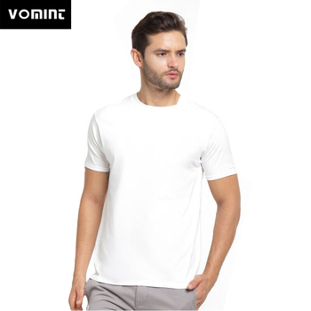 VOMINT 2020 Summer Men's  T Shirt  Casual T-Shirt O-Neck Solid Color Male T-Shirts Slim Fit  Short Sleeve T Shirt  tops & tees swicci men s summer loose short sleeve tees brand female print solid color o neck t shirts madam comfortable high quality casual