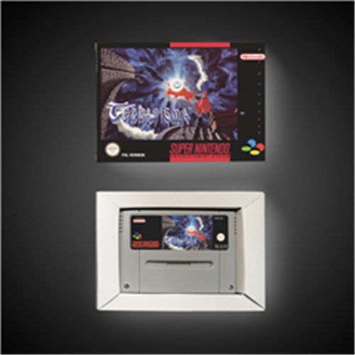 Terranigma - EUR Version RPG Game Card Battery Save With Retail Box