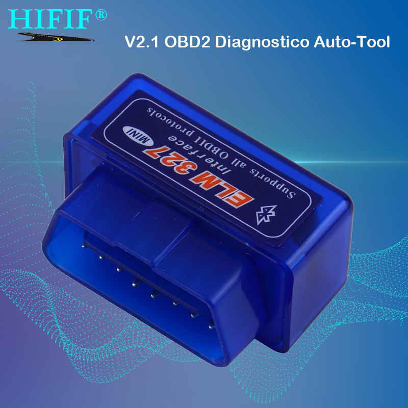 Mini ELM327 Bluetooth 2,0 Interface V 2,1 OBD2 OBD 2 Auto Diagnose-Tool ULME 327 Funktioniert AUF Android Drehmoment/PC v 2,1 BT adapter
