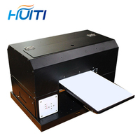 Huiti,A4 UV Printer UV Flatbed Printer for Phone Case, metal,pvc card,leather,phone case printer with UV ink