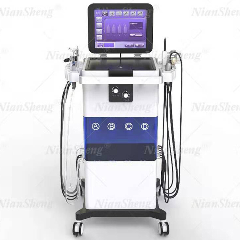 11 In 1Multi-Function PDT Hydra Beauty Equipment Hydra Microdermabrasion Oxygen Facial Machine Skin Rejuvenation Exfoliators