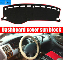 цена на for Honda Accord 6 1997 1998 1999 2000 2001 2002 Dashboard Cover Sun Shade dash Mat Pad Carpet Car Stickers Interior Accessories