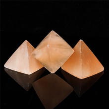 1pcs natural selenite pyramid healing chakra energy stones white quartz home decoration 1pcs natural selenite pyramid healing chakra energy stones white quartz home decoration