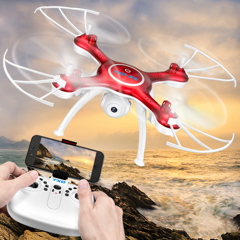 Unmanned Aerial Vehicle Remote Control Aircraft Txd-3s High-definition Real-Time Headless Mode