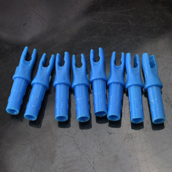 12pcs Hunting Crossbow Archery ID 6.2 mm  Arrow Nocks Internal For Carbon Fiberglass Arrow Shaft 1